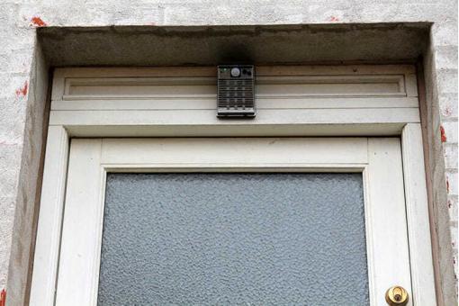 udendoers videokamera solceller