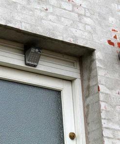 videokamera udendoers lys