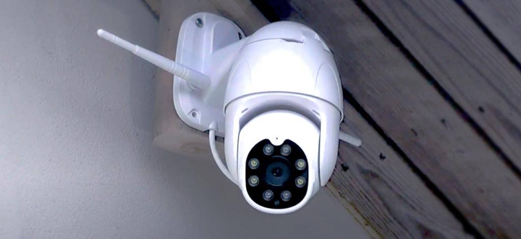 Udendørs sikkerhedskamera